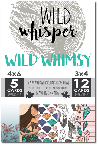 Wild Whimsy - Card Pack