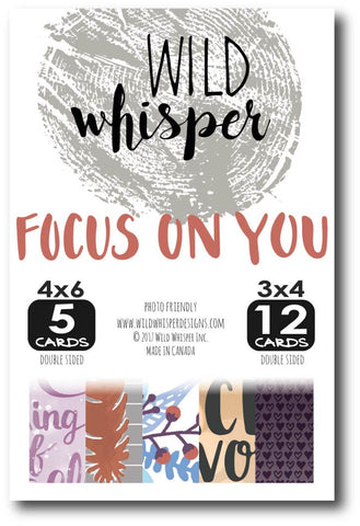 Focus on You Card Pack