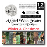 Pam Bray - Winter & Christmas DOUBLE 6x6 Paper Pack