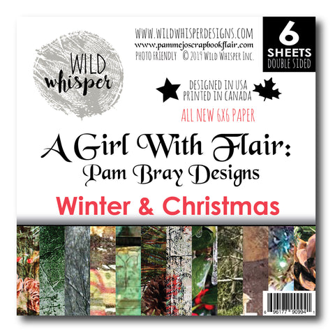Pam Bray - Winter & Christmas 6x6 Paper Pack