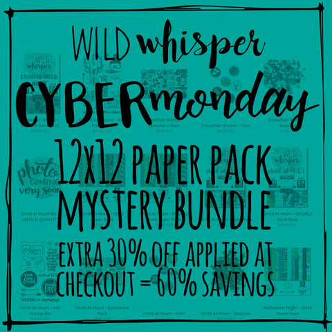 Mystery Bundle - 12x12 Paper Pack