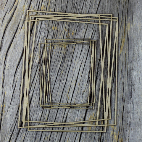 Chipboard - Abstract Frame Set