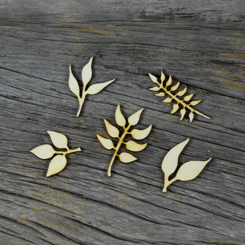 Wood Veneer - Leaves