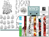 Nicole Wright Tinbit Travels - DOUBLE 12x12 Paper Pack