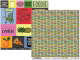 Talk Foodie To Me - DOUBLE 12x12 Paper Pack
