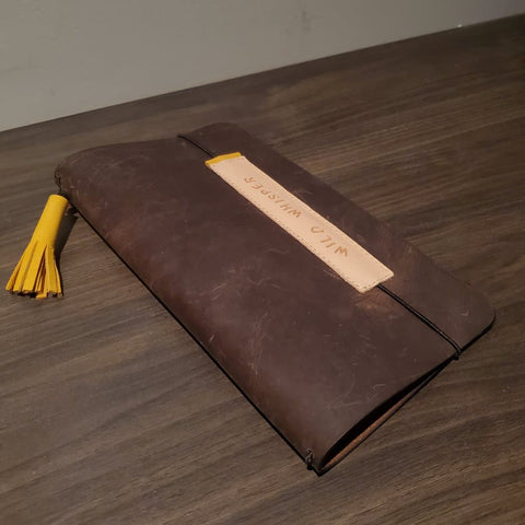 Traveler's Notebook Cover - Brown Leather