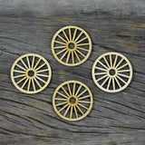 Wood Veneer - Wagon Wheels