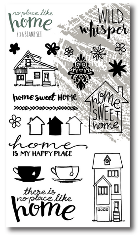 No Place Like Home Stamp Set