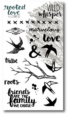 Rooted Love Stamp Set
