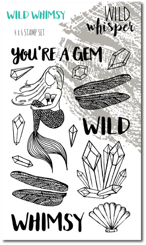 Wild Whimsy - Stamp Set