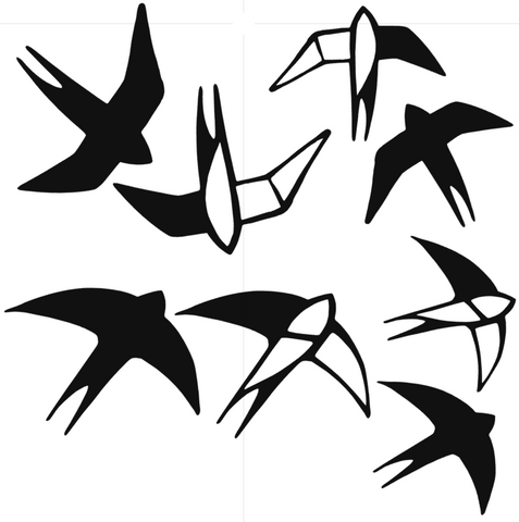 Cut File - Birds