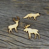 Wood Veneer - Animals