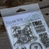 Feel the Beat - 4x6 Stamp Set