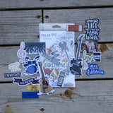 Feel the Beat - Ephemera Pack