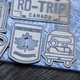 Road Trip! - Metal Embellishments