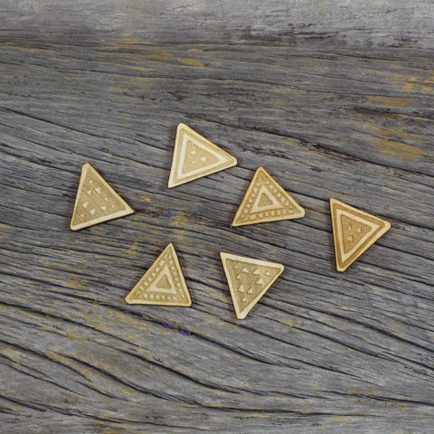 Wood Veneer - Triangles