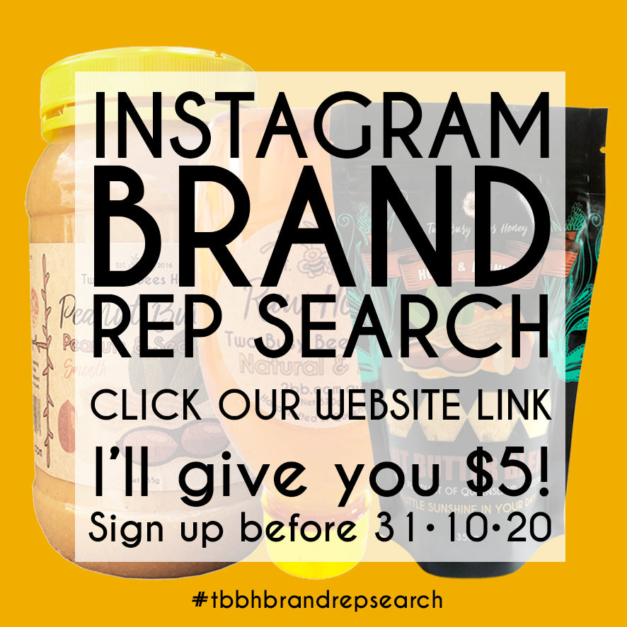 Two Busy Bees Honey Instagram Brand Rep Search