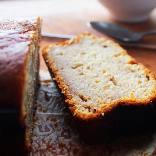 Honey, Ginger and Banana Loaf Cake