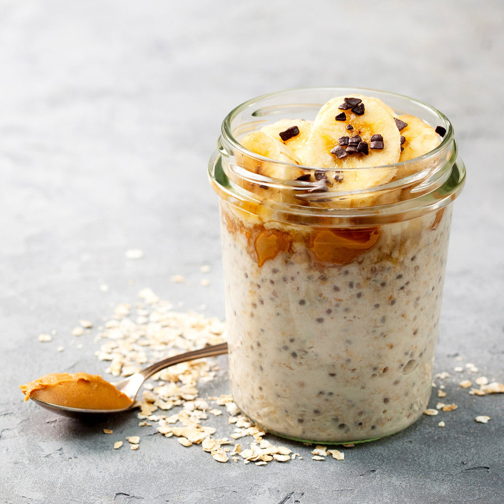 Overnight Oats from Two Busy Bees Honey