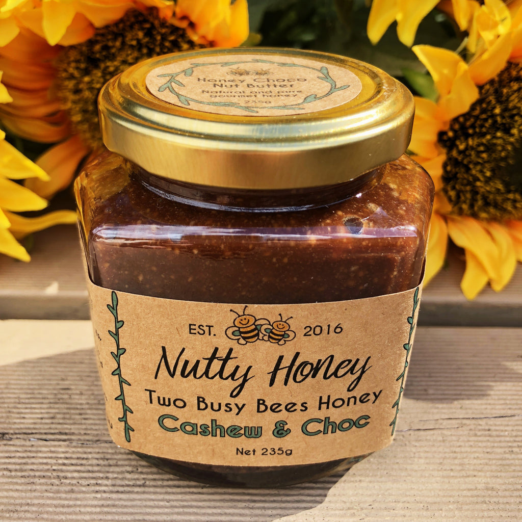Honey-chocolate-cashew-nut-butter-Two-Busy-Bees-Honey