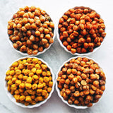 Honey oven roasted chick peas from Two Busy Bees Honey