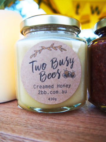 Creamed honey from Two Busy Bess
