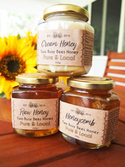 Two busy Bees - Three Jar Set