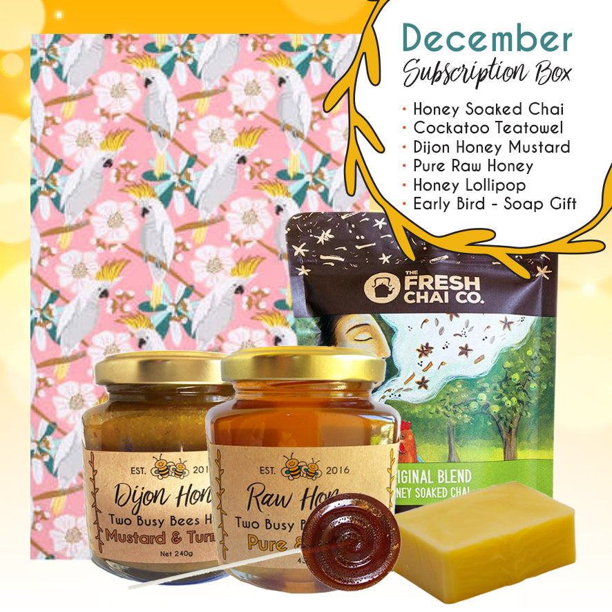 SubscriptionBoxProducts-December-TwoBusyBeesHoney