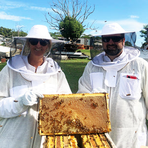 Bee Farm Tour Exclusive Experience - 'Ask me about the Bees!' (For Two)