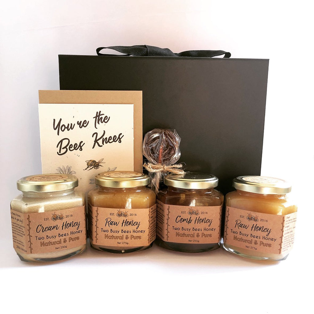 Honey Hamper - Pure Honey - Sweet As Honey! - Two Busy Bees Honey