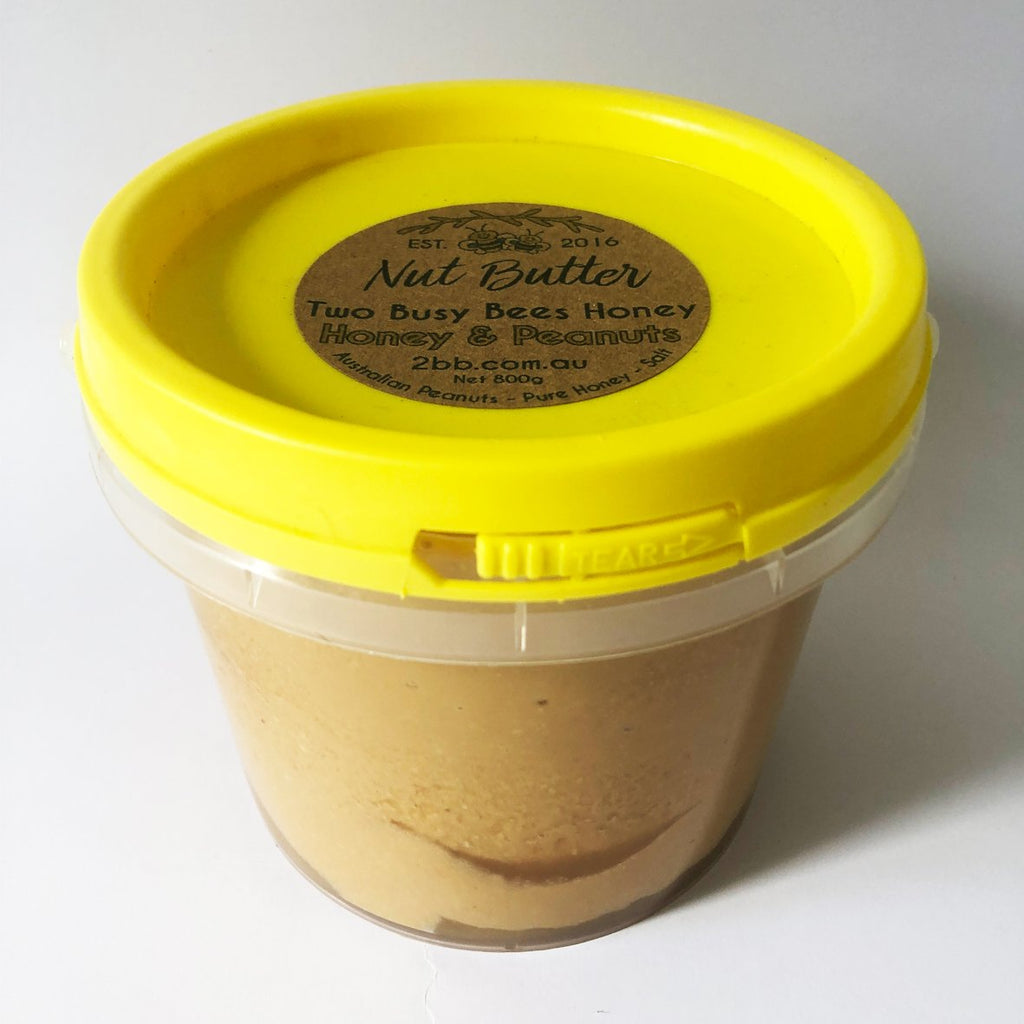 Peanut Butter and Pure Honey - Small Bucket Tub
