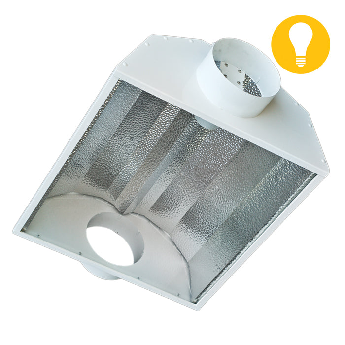 8'' Basic Air-Cooled Reflector w/ Slide- in Glass-NWGSupply.com