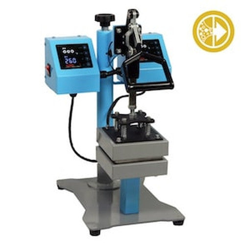 Bubble Magic 5''x5'' Manual Heat Press 100psi-NWGSupply.com