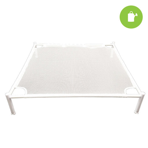 Stackable Square Drying Rack - 1 Tier, 27'' x 27''-NWGSupply.com