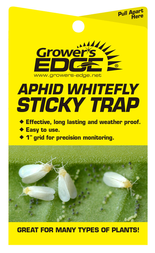 Grower's Edge® Sticky Whitefly Traps-NWGSupply.com