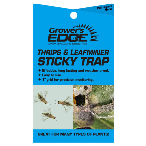 Grower's Edge Sticky Thrip Leafminer Traps-NWGSupply.com