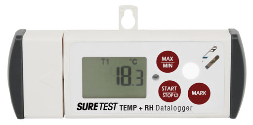 Sure Test Temperature and Relative Humidity Data-Logger-NWGSupply.com
