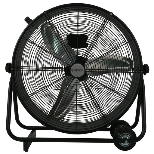 Hurricane Pro High Velocity Metal Drum Fan 24 in-NWGSupply.com