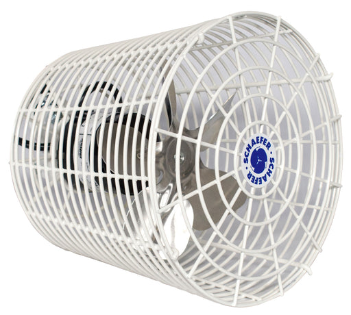 Schaefer Versa-Kool Circulation Fan 8 in w/ Tapered Guards Cord & Mount - 450 CFM-NWGSupply.com