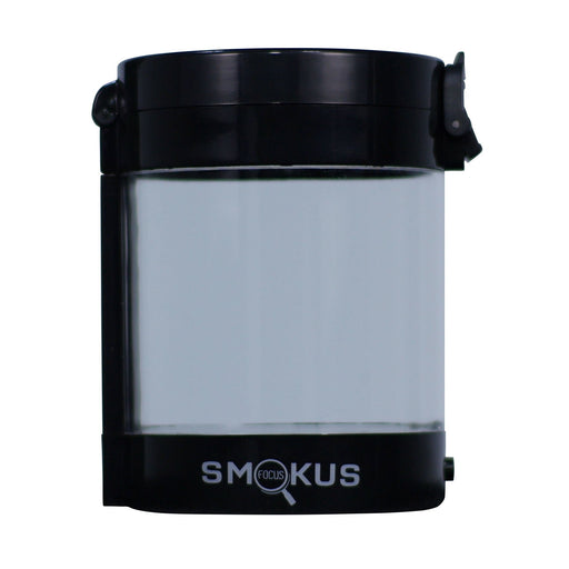 Smokus Focus Middleman Display Container w/ LED and Dual Magnification - Black-NWGSupply.com