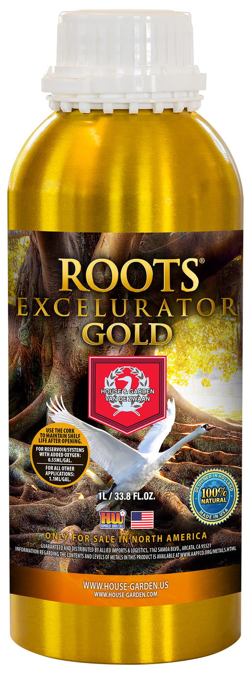 House and Garden Root Excelurator Gold 1 Liter-NWGSupply.com