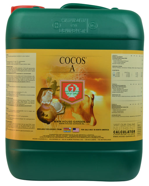 House and Garden Cocos A 10 Liter-NWGSupply.com