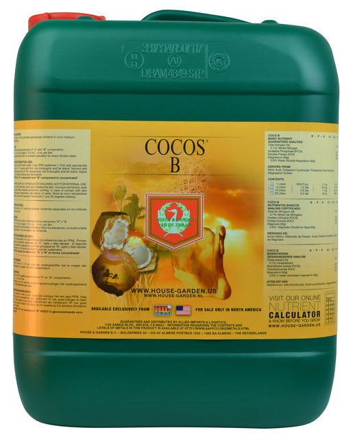 House and Garden Cocos B 10 Liter-NWGSupply.com