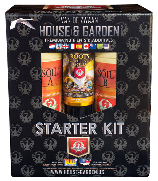 House and Garden Soil A and B Starter Kit-NWGSupply.com