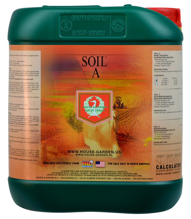 House and Garden Soil A 5 Liter-NWGSupply.com