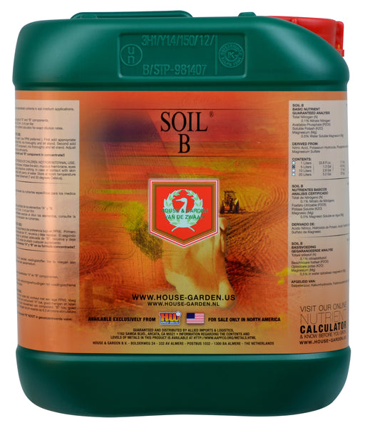 House and Garden Soil B 5 Liter-NWGSupply.com