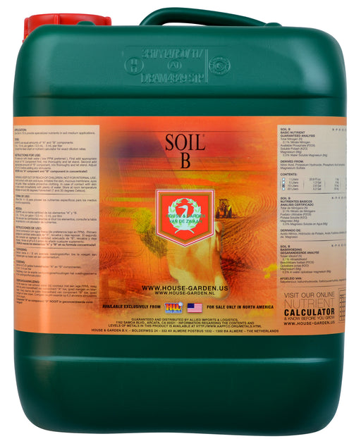 House and Garden Soil B 10 Liter-NWGSupply.com