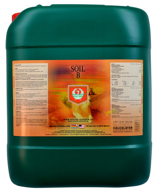 House and Garden Soil B 60 Liter (SO Only)-NWGSupply.com