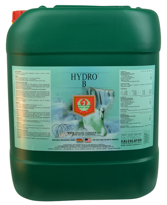 House and Garden Hydro B 20 Liter-NWGSupply.com