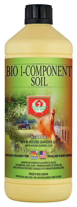 House and Garden Bio 1-Component Soil 1 Liter-NWGSupply.com